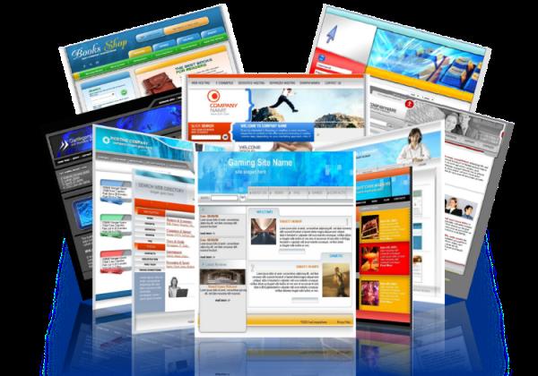 Виды дизайна для сайта